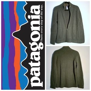 Patagonia Wool Zip Sweater Size S